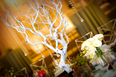 Winter Wedding Centerpieces Branches