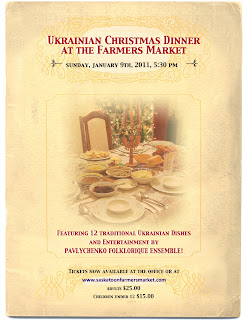 ukrainian christmas at saskatoon farmers' market