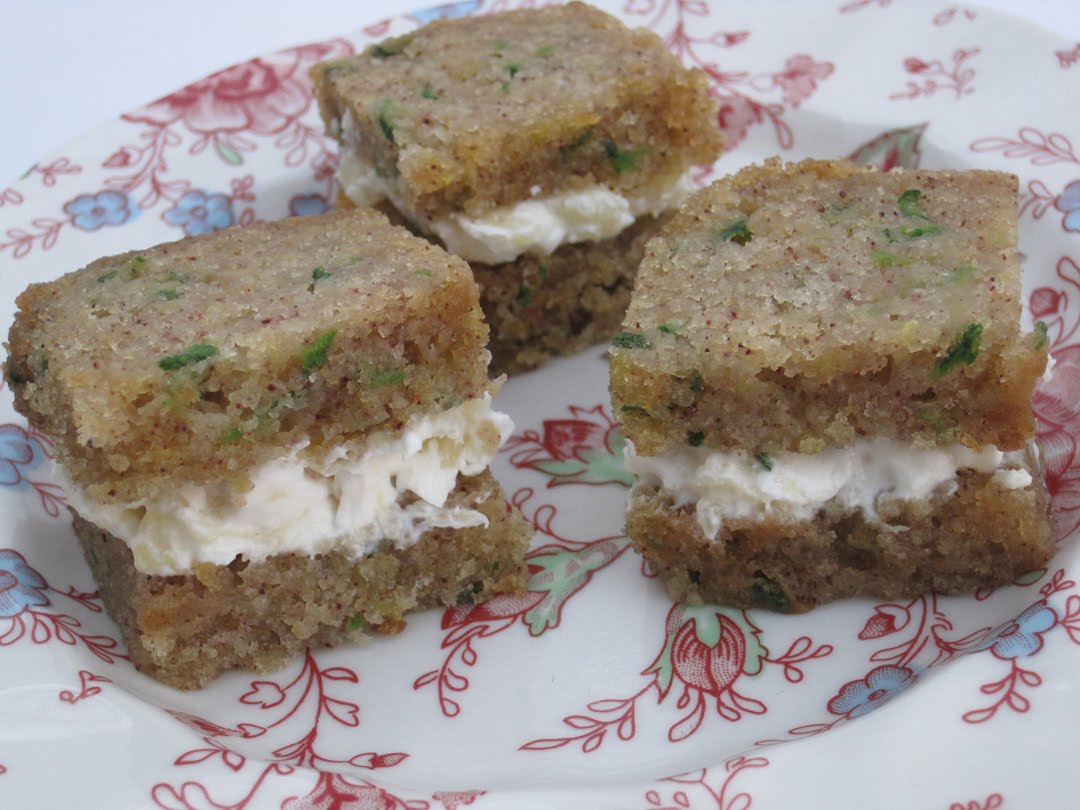 ... : Tea Sandwich Saturday #4 - Pineapple Cream Cheese on Zucchini Bread