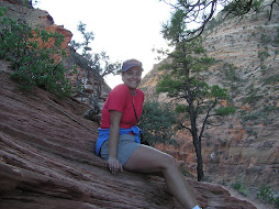 Climbing up to Angels Landing as a real character builder!