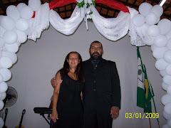 Pr Adonias e Pra Mary na Igreja