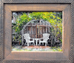 """Florida Summer""  Framed - SOLD"