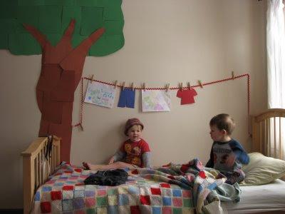 Idee per decorare la cameretta pane amore e creativit - Decorare la cameretta ...