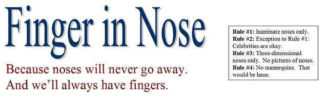 Finger in Nose