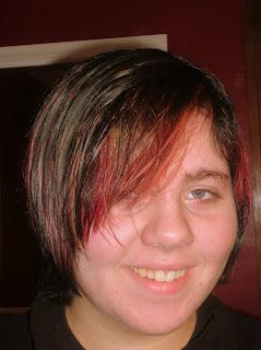 Amanda's new hair color