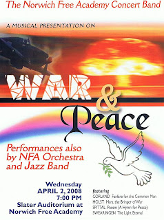 NFA Concert Band Promo Flyer