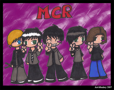 MCR done in Cheebie style by Amanda