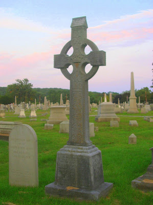 Celtic Cross Yantic Cemetery Norwich CT