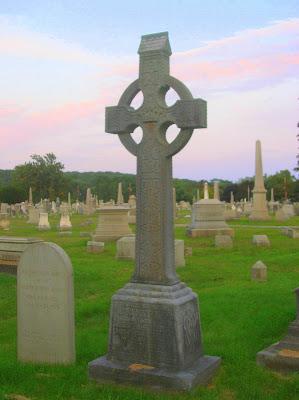 Celtic Cross Yantic Cemetery Norwich CT