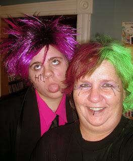 Amanda and Emo Mom