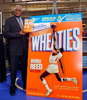 Wheaties Box with Willis Reed