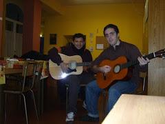 chitarristi apprendisti (nicola e giampiero)