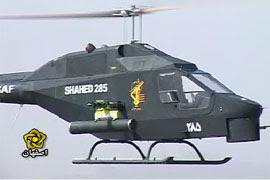 Shahed 285 o novo helicóptero de ataque leve do Irã