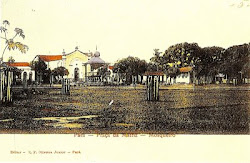 Praça da matriz (Vila) no começo do século XX
