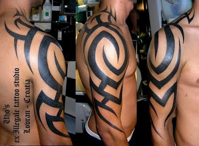 freehand tribal tattoos