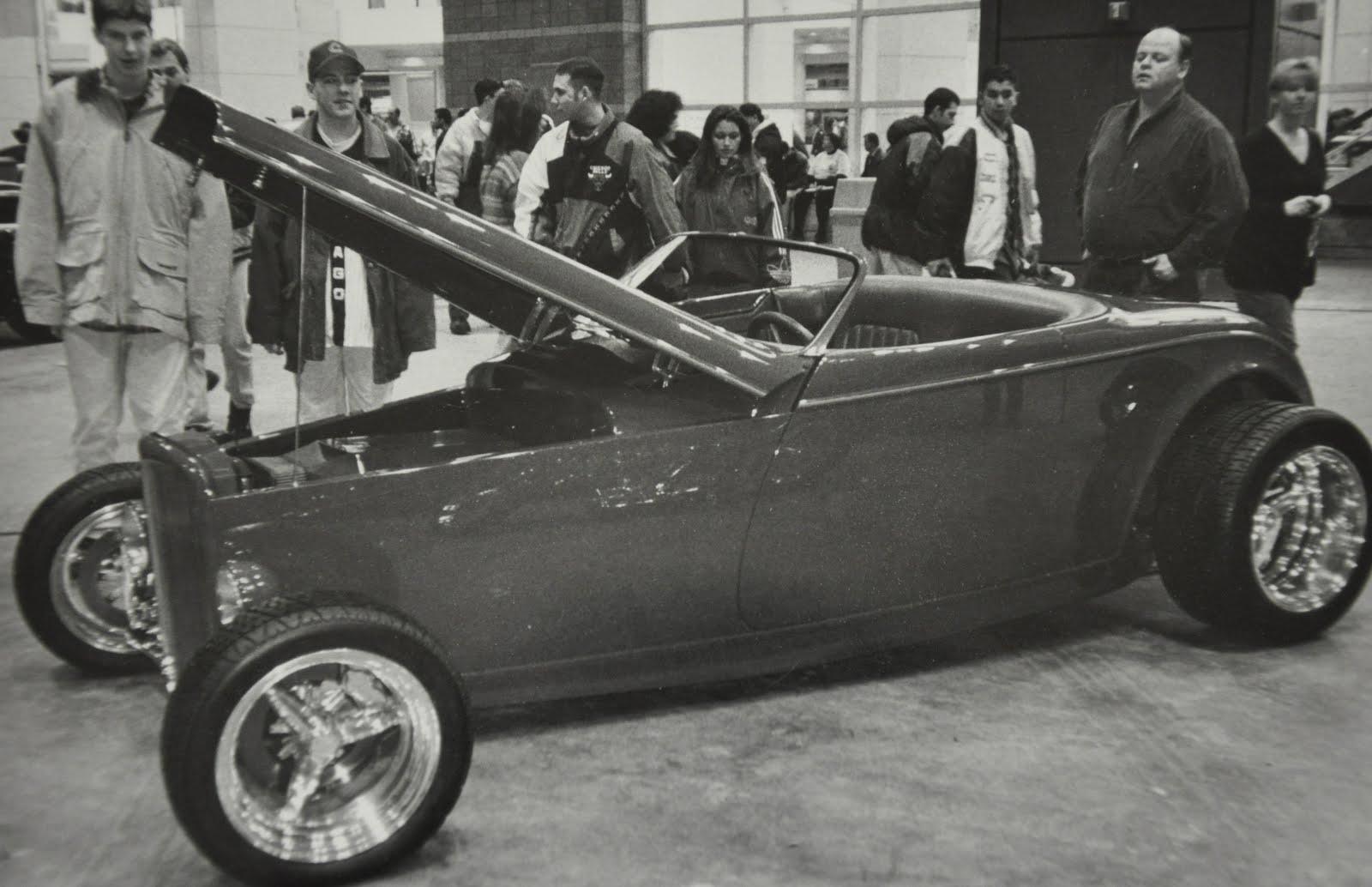 Boyd coddington car drawings