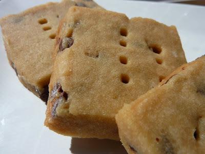 Cookies on Friday: Espresso Chocolate Shortbread Cookies