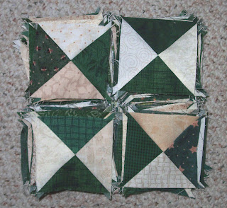 100 hourglass quilt blocks for mystery quilt