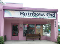 Rainbows End entrance and sign