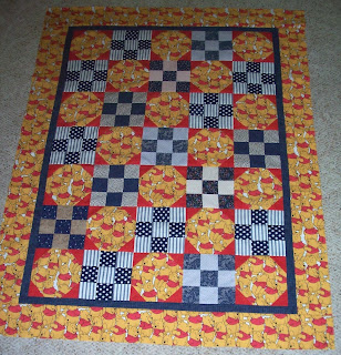 Winnie the Pooh quilt top