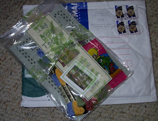 packaged stitchery kit