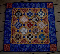 Jo Morton Churn Dash quilt from last post