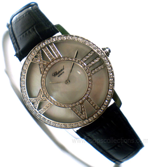 Kode: Jam Tangan Wanita Chopard Roman Numeral with Diamond - white ...