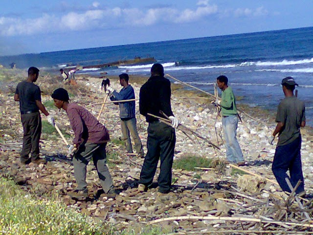 Εξόρμηση καθαριότητας στις ακτές της Κυπαρισσίας