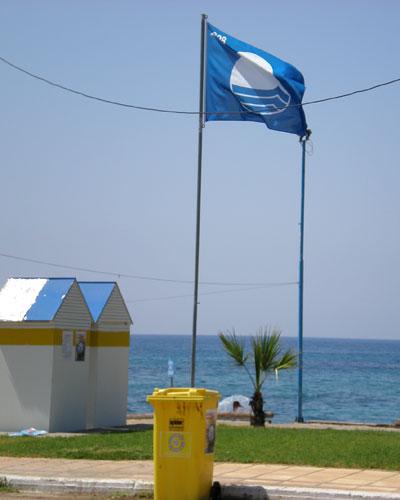 'Γαλάζια Σημαία΄ απονέμεται και φέτος στον Αι Λαγούδη