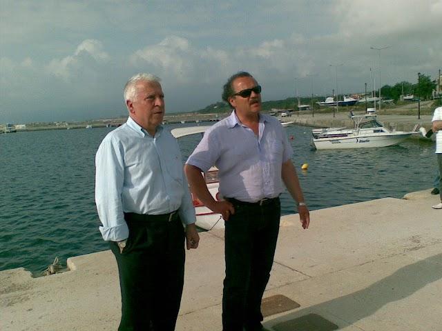 Επίσκεψη φοιτητών του Ε.Μ.Π. για το Λιμάνι Κυπαρισσίας