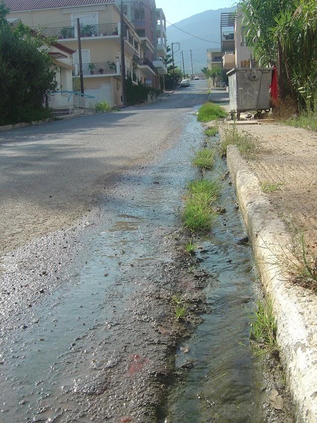 Απάντηση του Δήμου για τα όμβρια στη περιοχή Αποβάθρας