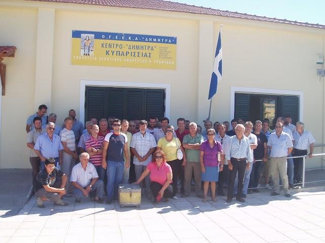 Ημερίδες εκπαίδευσης μελισσοκόμων στην Κυπαρισσία