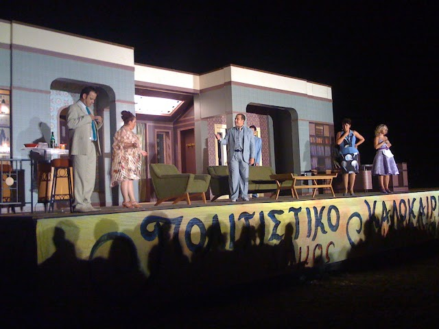 Χιούμορ και χειροκρότημα στην παράσταση των Ρέππα- Παπαθανασίου
