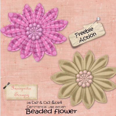Beaded Flower (Tested in CS2,CS3 & CS4) - By: Incognito Scrapz Incognito_beadedflower