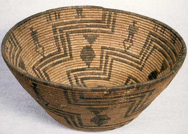 Traditional Native American Basket Weaving : Anth