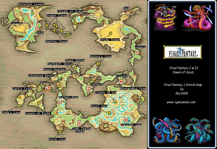 Rose 39 Markable Blog Final Fantasy I Dawn of Souls Little Guide