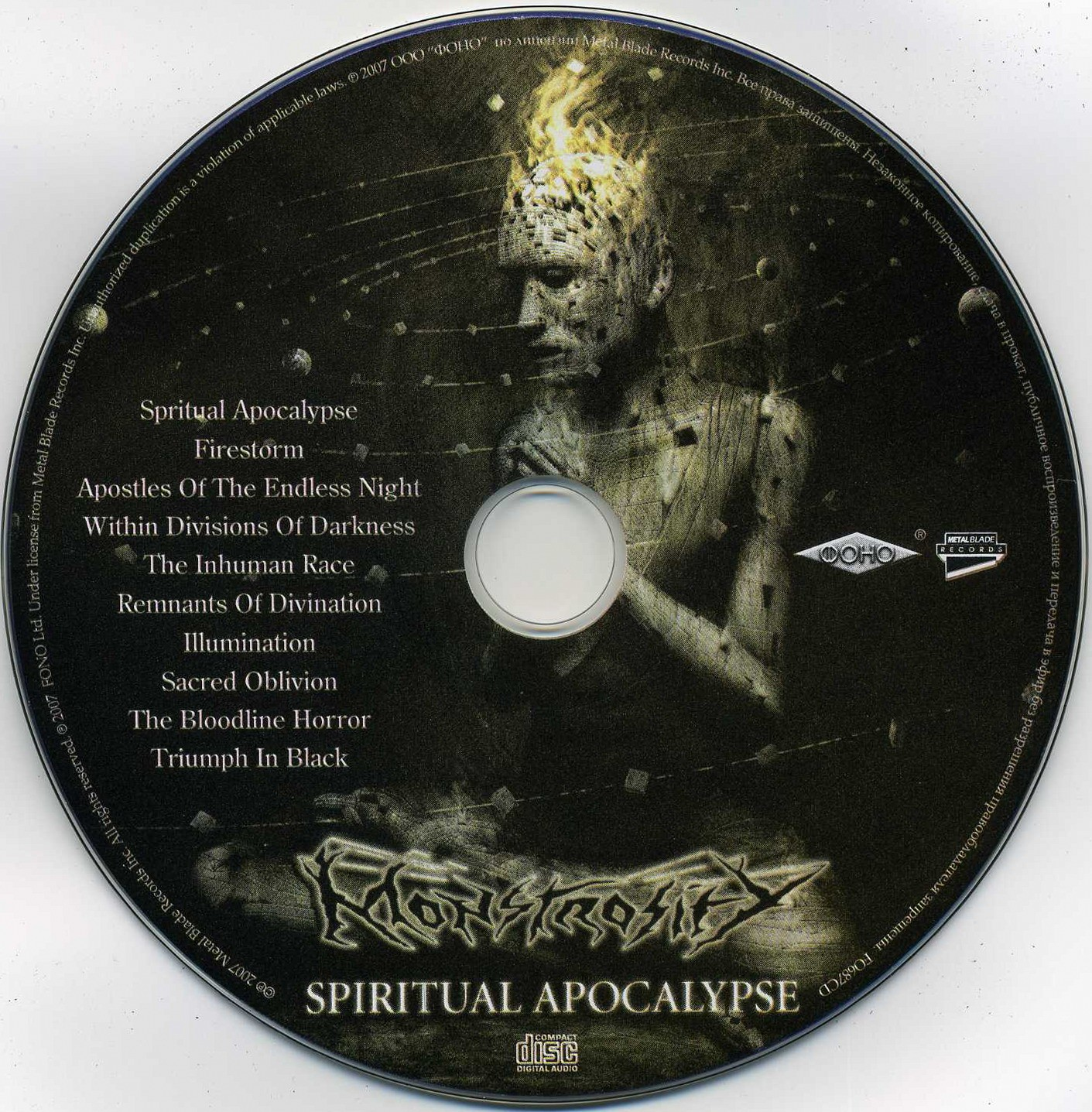 Spiritual Apocalypse Monstrosity: SONIDOSZERO -- METAL FREE MP3: Monstrosity