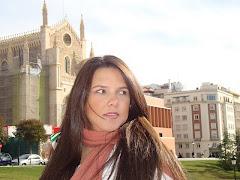 Mariana, minha filha, em Madri