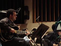 Gabriel no concerto de encerramento do semestre, em 17/04/2010 , na UT(Austin-Texas)
