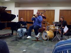 Gabriel, acompanhando Terence Blanchard, grande trompetista americano