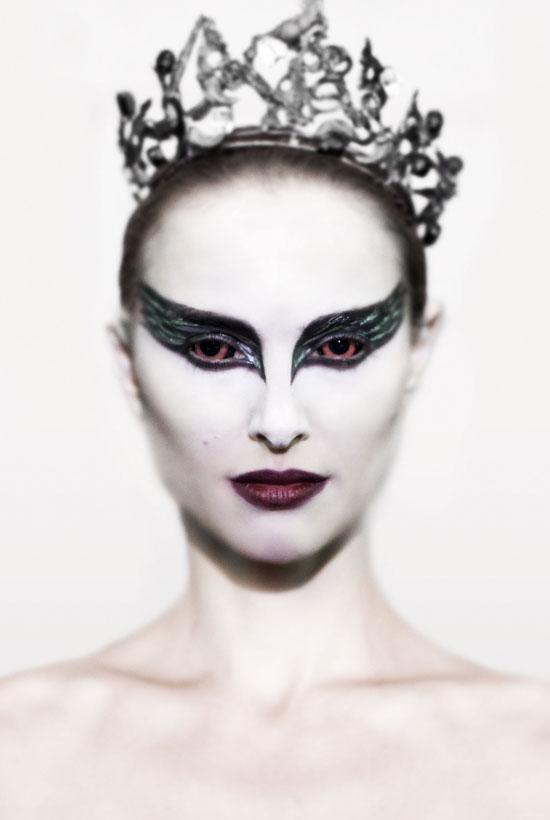 black swan makeup natalie portman. lack swan tattoo mila.