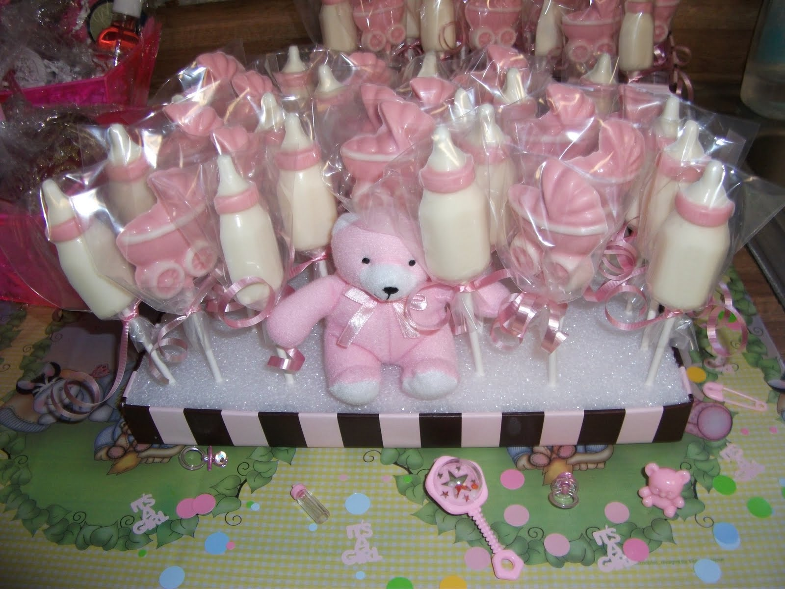 baby shower chocolate lollipop molds