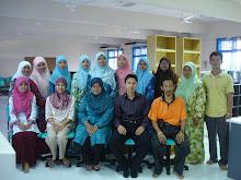 Bersama peserta kursus @ Kundang Ulu