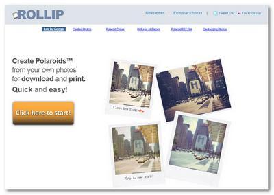 Aplicar efectos Polaroid en las fotografías