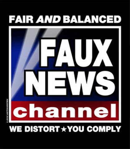 It s obvious that you re a viewer of Faux No News  enough said