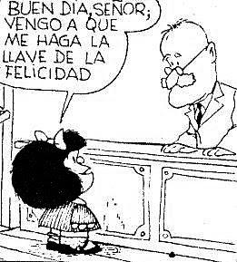 Mafalda y la felicidad