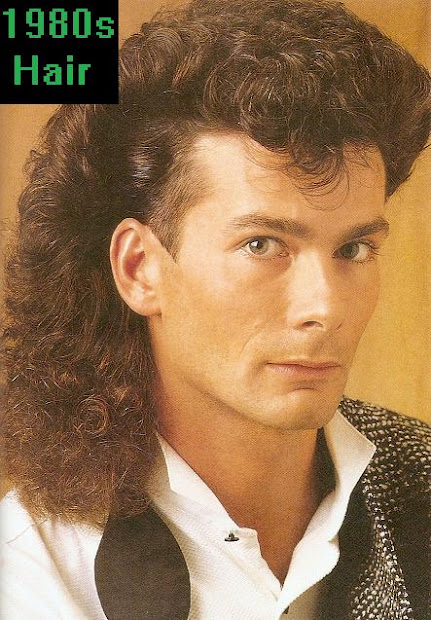'80s actual 1980s hair