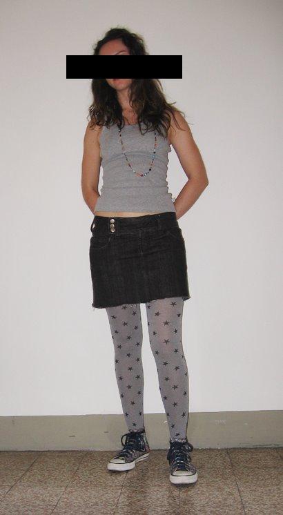 Amo meia-calça estampada!