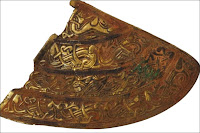 Helmet cheek plate  (anglo-saxon treasure)