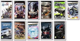 PSP releases for September 2009